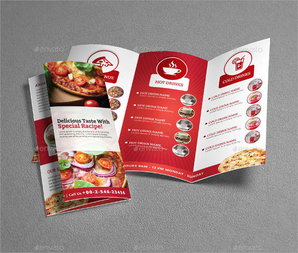 Restaurant Brochures   Download Documents In Vector Eps