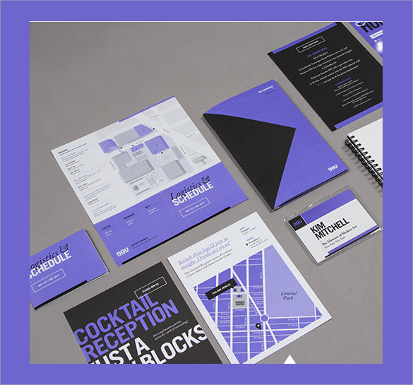 Sample Elegant Conference Brochure Templates   Documents