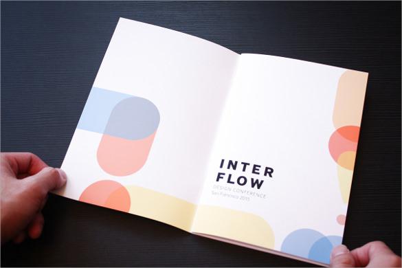 Sample Elegant Conference Brochure Templates 13 Documents – Conference Brochure Template