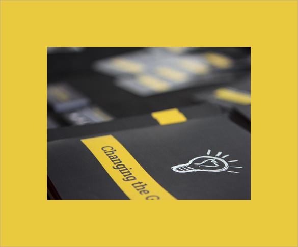 sales conference brochure