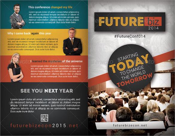 attractive conference brochure