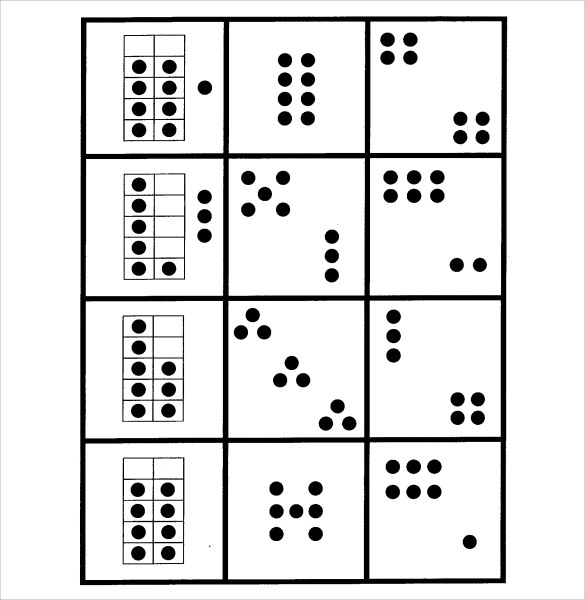 Sample Dot Game Template Standard Dot Game Sample Dot Game