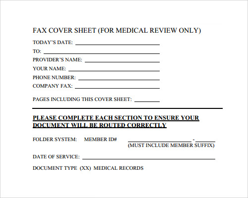 Fax Cover Sheet Template 28 Download Free Documents In