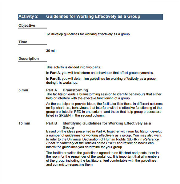 free employee training manual template