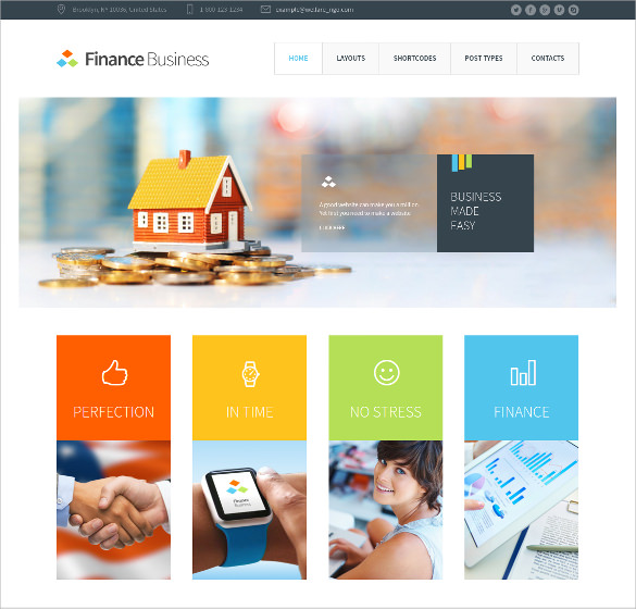 Template Mortgage Website