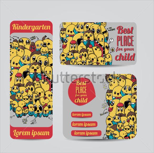 best kindergarten brochure