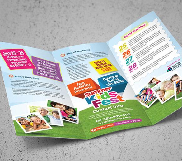 remarkable kindergarten brochure