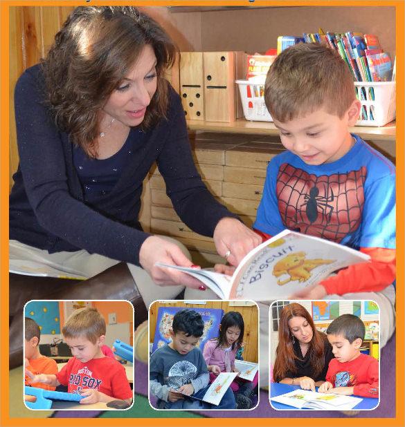 good kindergarten brochure
