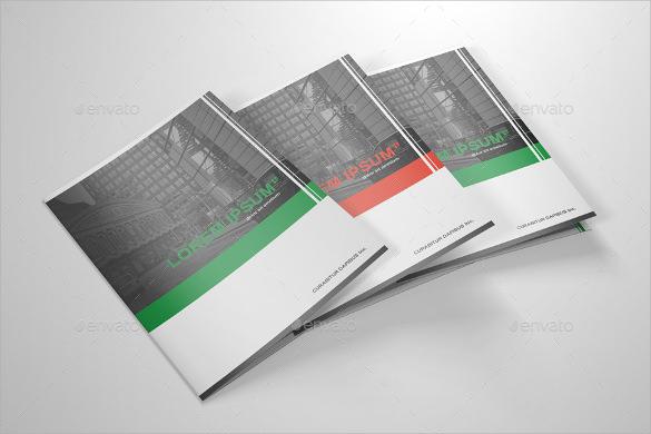 wondrous half fold brochure template