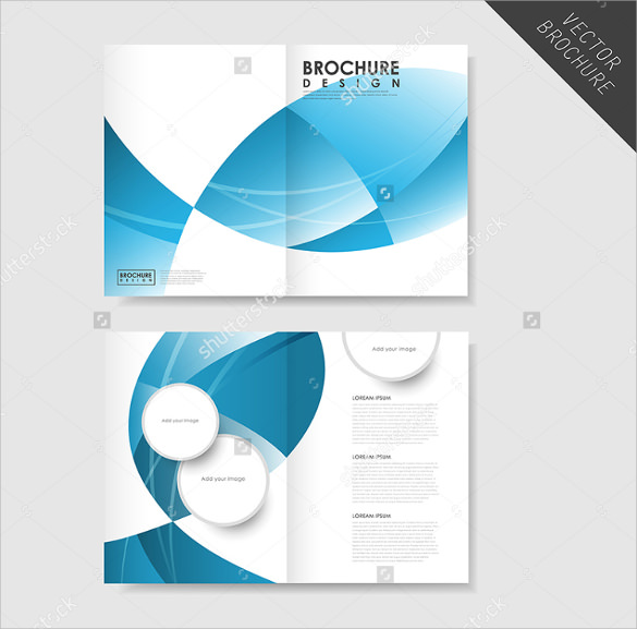 26 half fold brochures sample templates for Creative brochure template