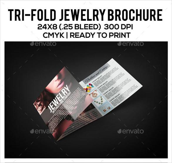 photoshop psd jewelry brochure