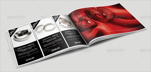 striking jewelry design brochure