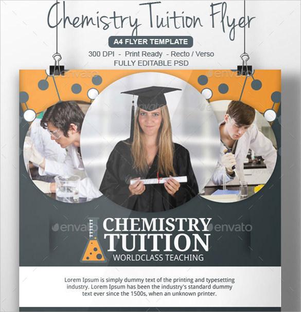 best tutoring flyer