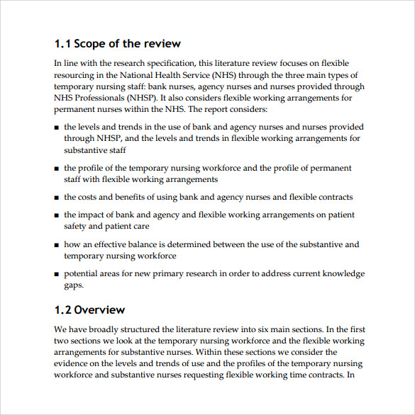 research report template pdf