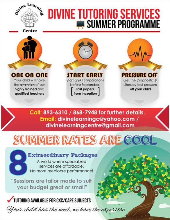 18  best tutoring flyer templates