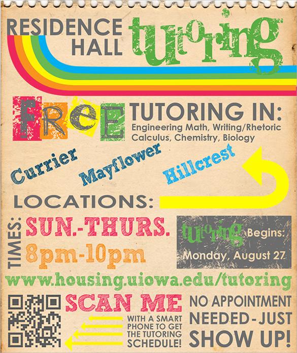 spectacular tutoring flyer
