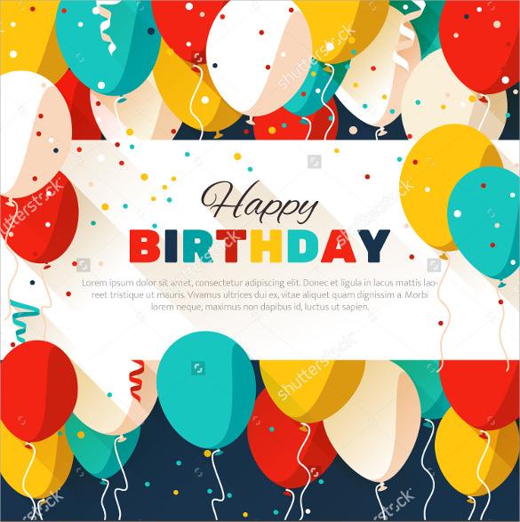 make birthday flyer