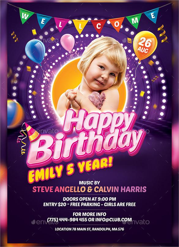 Kid Birthday Invitations is beautiful invitations design