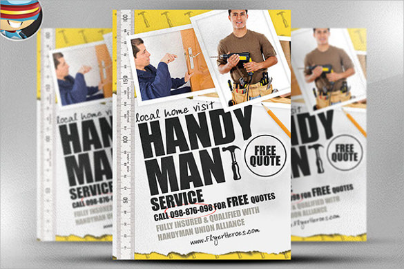 24  beautiful handyman flyer templates