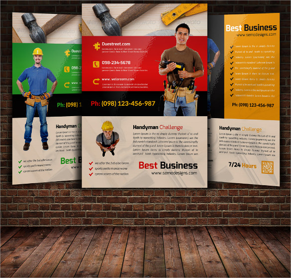 26  beautiful handyman flyer templates