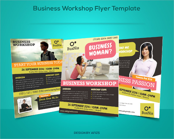 amazing promotional flyer template