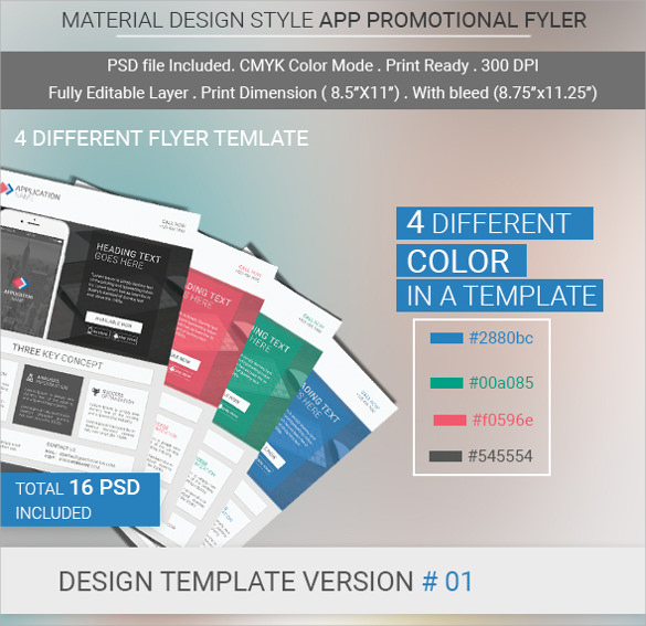 Wonderful Promotional Flyer Template - 20+ Download Documents