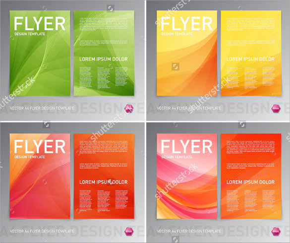 attractive flyer background template 19 download documents in