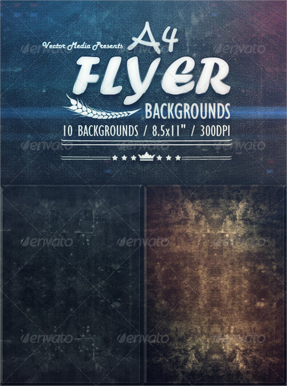 attractive flyer background template