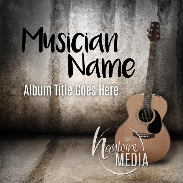 musician background flyer