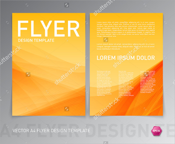 20  attractive flyer background templates