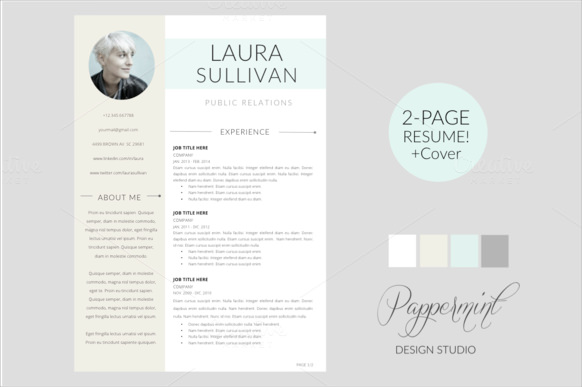 Free 14 Resume Cover Page Templates In Psd Eps Pdf