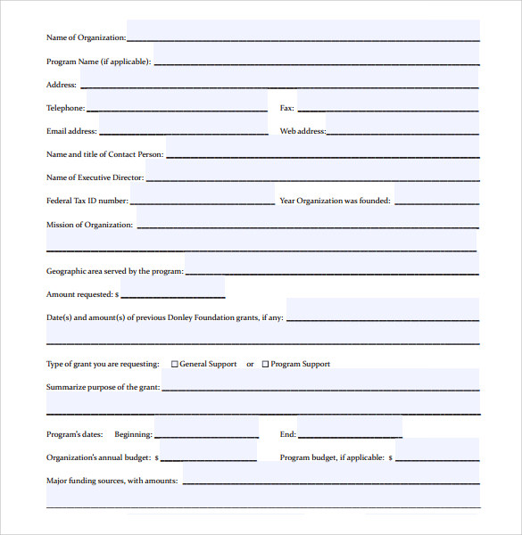 Sample Proposal Cover Sheet