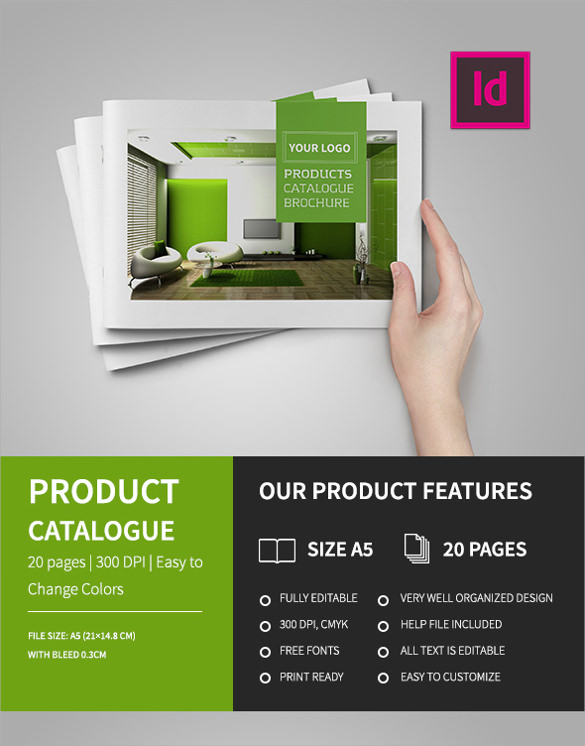 Product brochure templates 24 download documents in for Product brochure template
