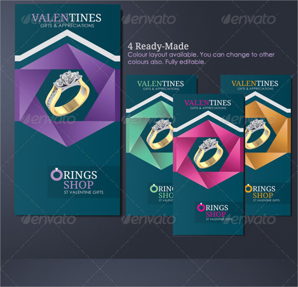 Jewelry Brochures  Vector Eps Indesign Pdf