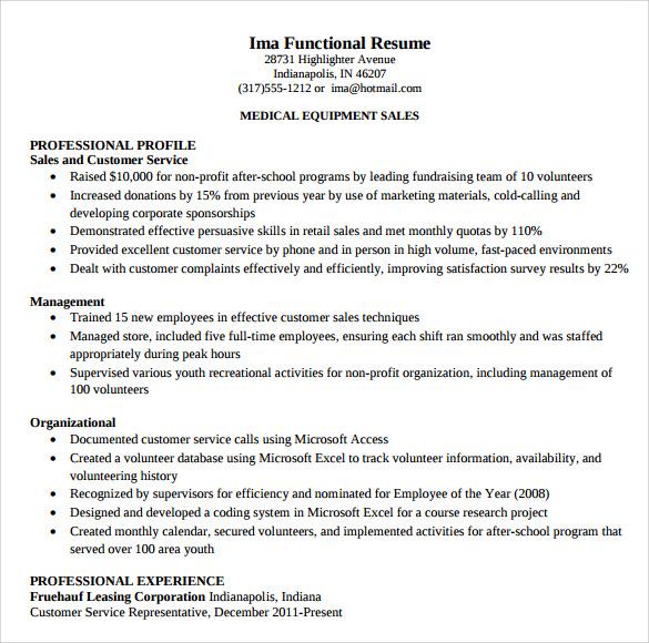 Customer Service Representative Resume Templates to Download