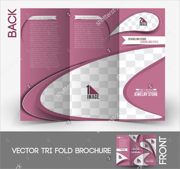 adorable jewelry brochure template1