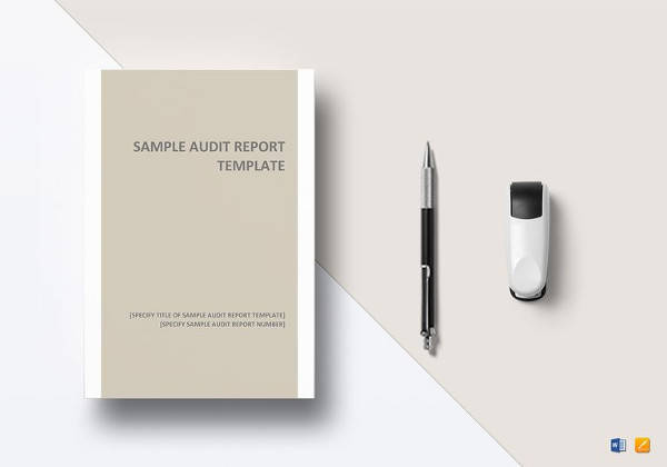 audit report template in word format