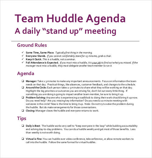 daily-huddle-agenda