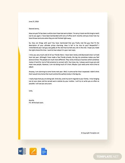 free informal letter example1