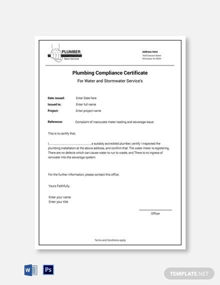 Free 25 Sample Certificate Of Compliance In Pdf Psd Ai Indesign