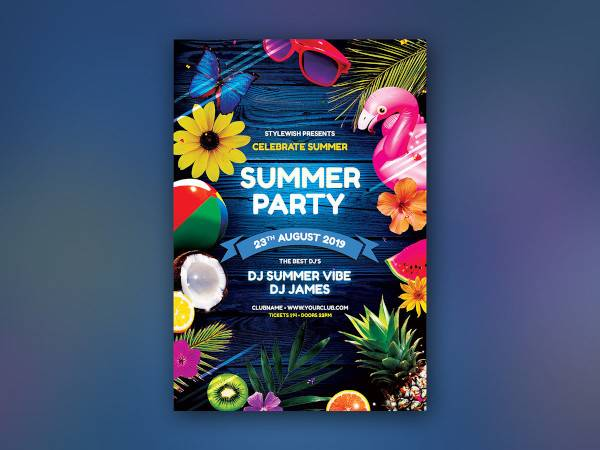 summer party flyer1