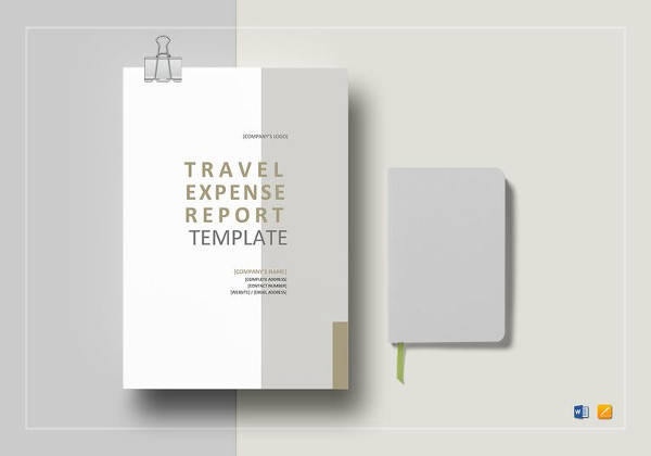 travel expense report template1