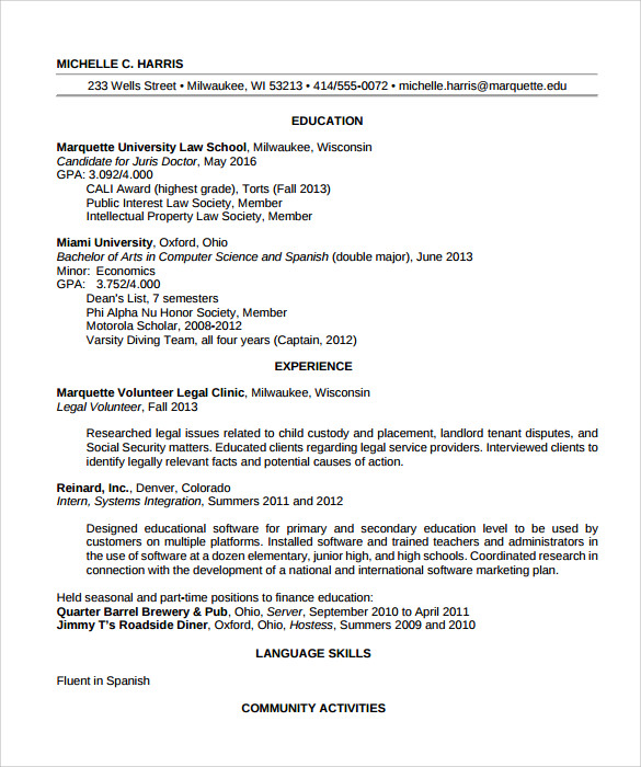 sample legal resume template resume templates law office assistant