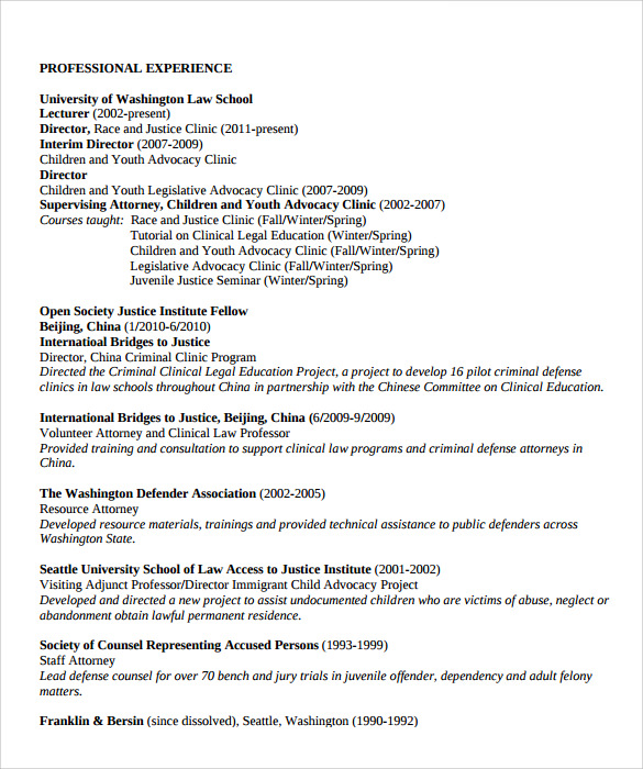 legal resume 11 download documents in pdf sample templates