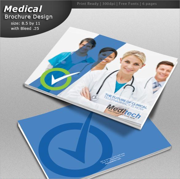 Medication Brochure Template - Medical brochure template