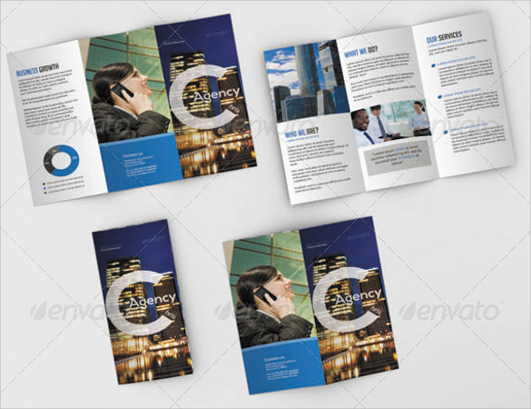 cute psd brochure design