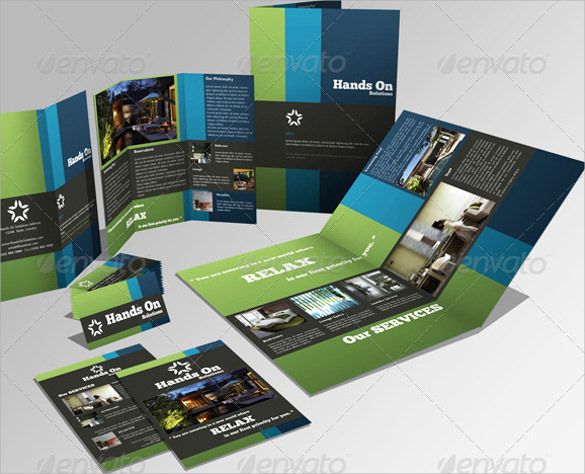 creative psd brochure design