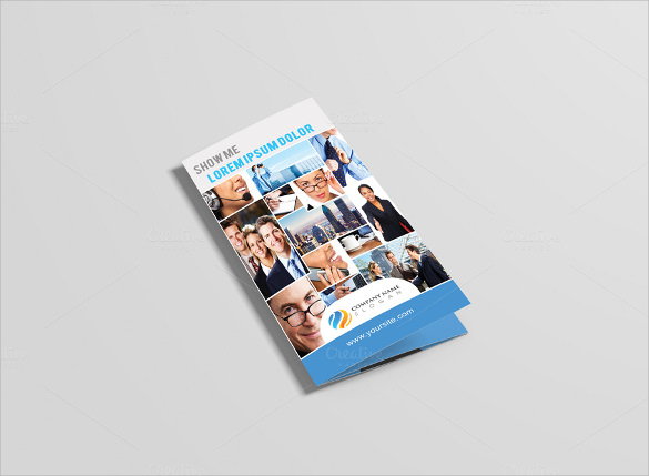 striking psd brochure design