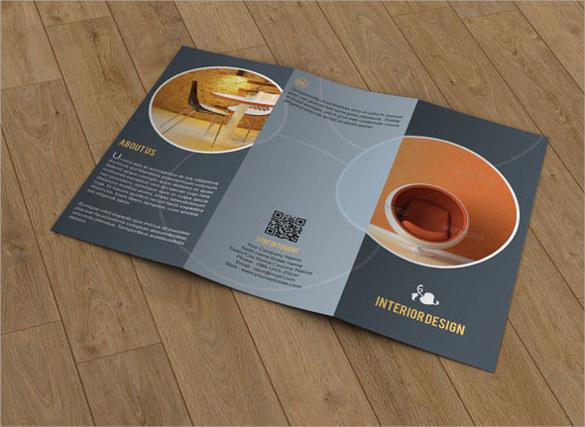 elegant psd brochure design