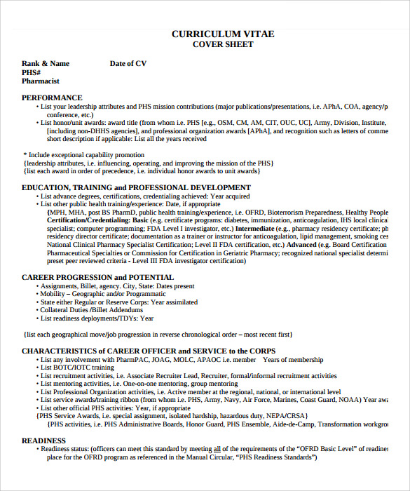 simple pharmacist resume